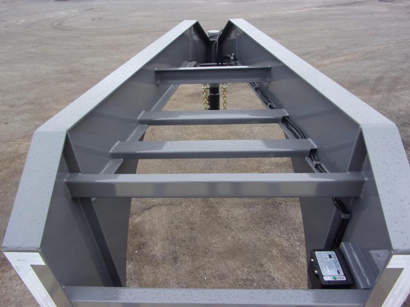 2020 Midsota 102x32 gooseneck flatbed w/ hd ramps