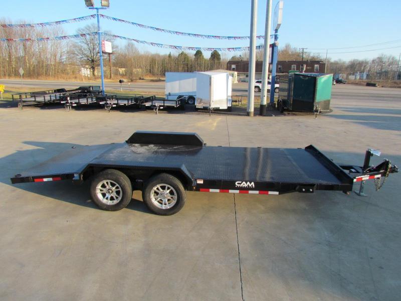 2020 Cam Superline 18' steel deck car hauler - 3.5 ton