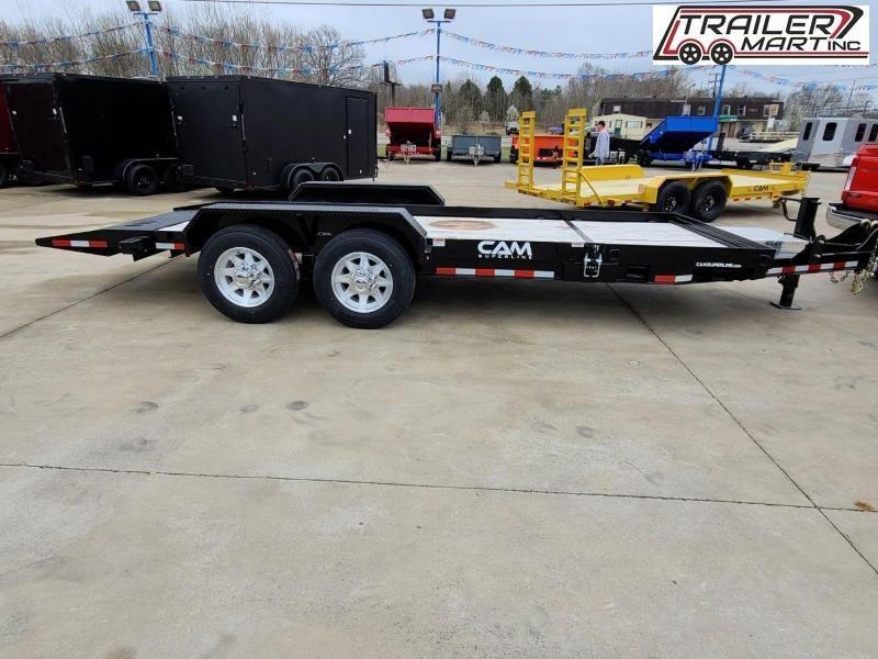 2020 Cam Superline 16' channel frame flatbed equipment trailer - 7 ton