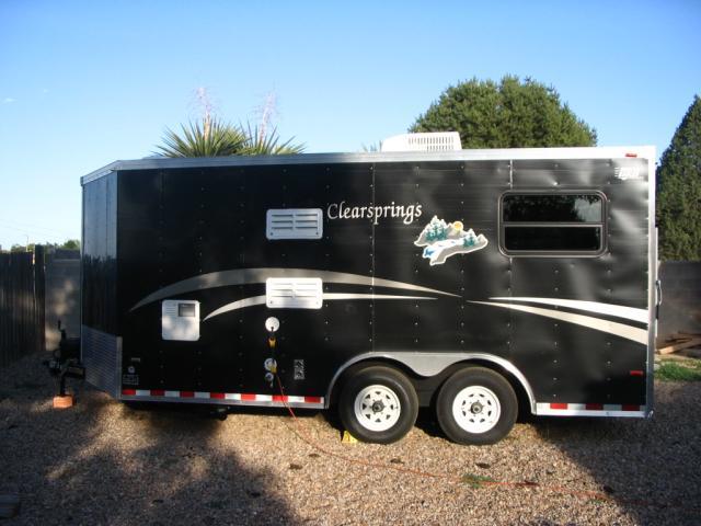 2005 Horton motorcycle trailer