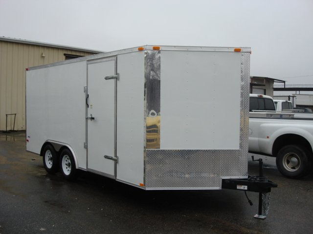 Car Auto Hauler Trailer 8.5X16 V NOSE