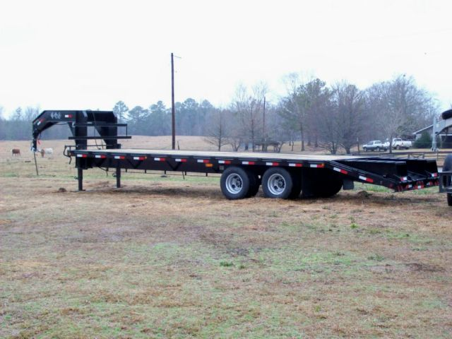 GPI Deluxe Dual Tandem Flatbed 24'+5' Dovetail