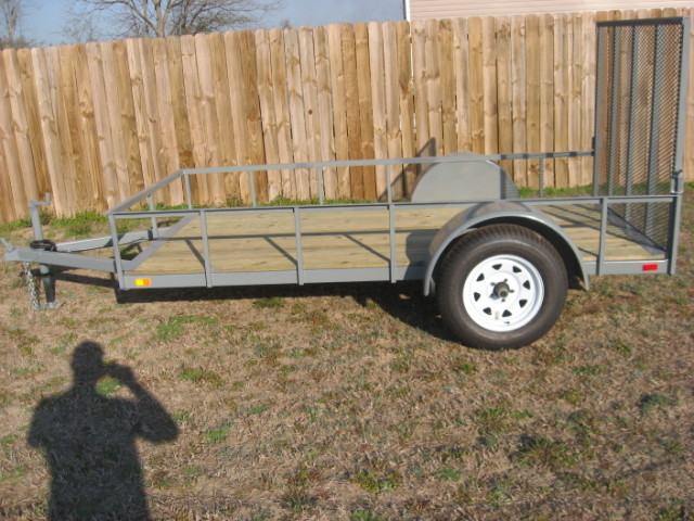 ANVIL 5X8 UTILITY TRAILER