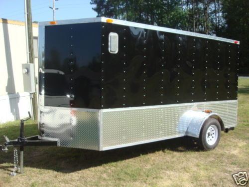 09 Motorcycle trailers 6x12 single and tandem