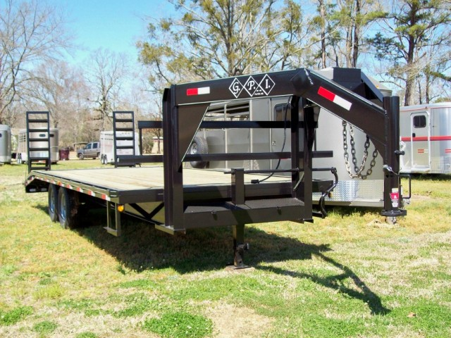 GPI Tandem Axle Flatbed 18'+5' Dovetail