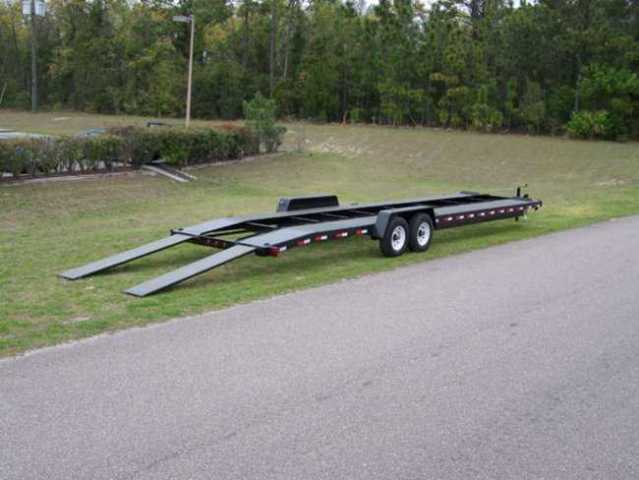 Car Hauler Trailer can carry 2 to 3 or Cargo