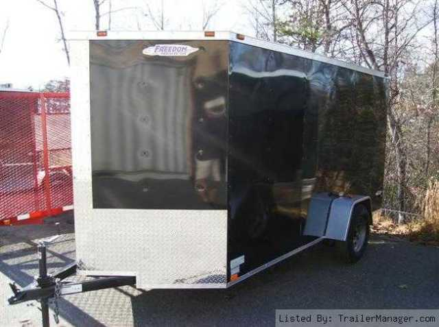 2011 6x12 V-nose Enclosed Trailer
