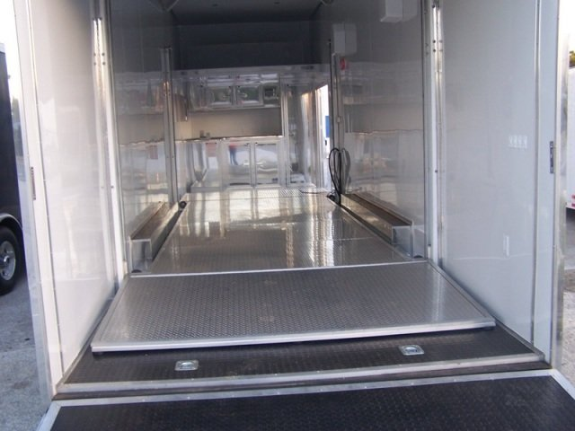 2 Car Stacker Trailer Loaded With Options