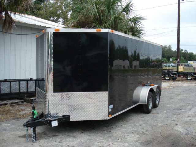 7x16 Enclosed Trailer for Motorcycles