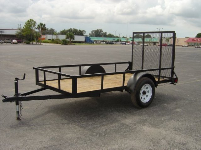 6 x 12 Single Axle Utility Trailer w/ Ramp Gate-DEXTER