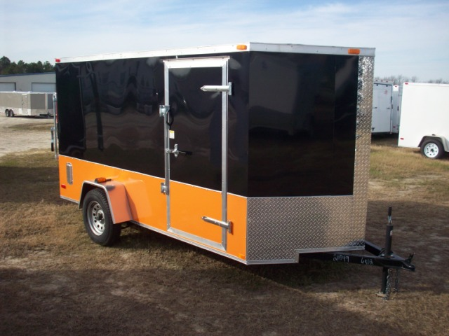 6X12 ENCLOSED MOTORCYCLE TRAILER