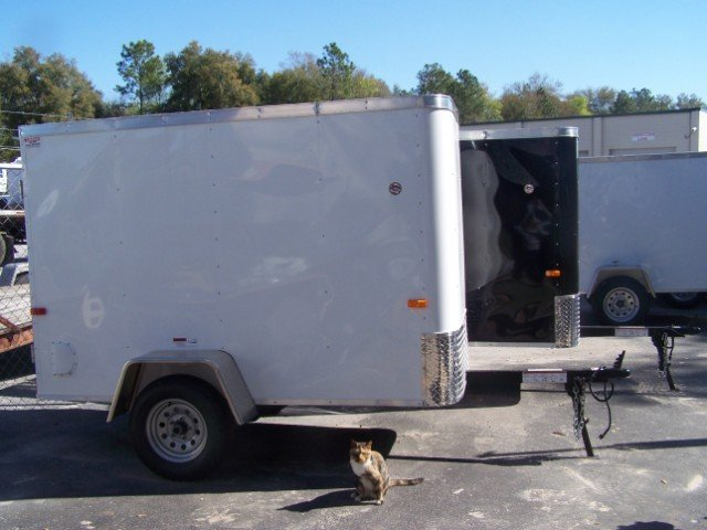 4X8 Cargo Craft Enclosed Trailer