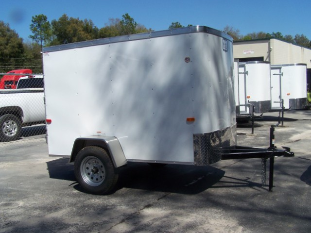 5x8 CARGO CRAFT ENCLOSED TRAILER