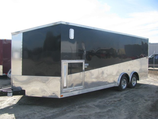 2010 8.5X20 SPECIALITY ENCLOSED CARHAULER TRAILER