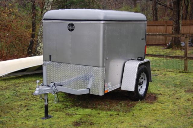 Buy & Sell New & Used Trailers 2007 4x6 Wells Cargo Mini Wagon at TrailerShopper.com