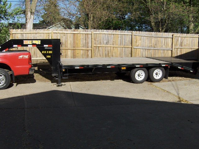 Doolittle Gooseneck Trailer Ia 50321 Usa Cheap Used
