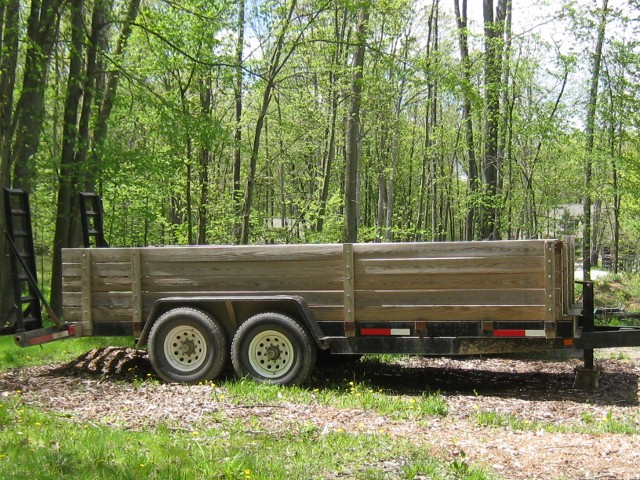 Construction / Car Hauler trailer