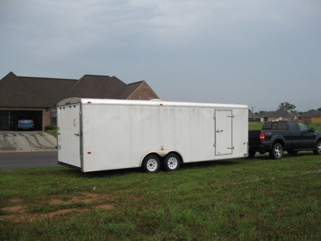 2009 8.5 x 24 American Hauler with radial tires