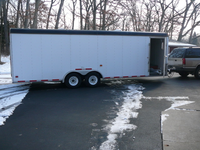 2003 Southwest Expressline 24' Enclosed trailer