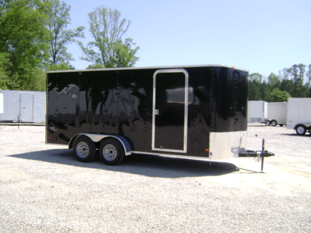2010 LOOK 7X16 ENCLOSED V-NOSE