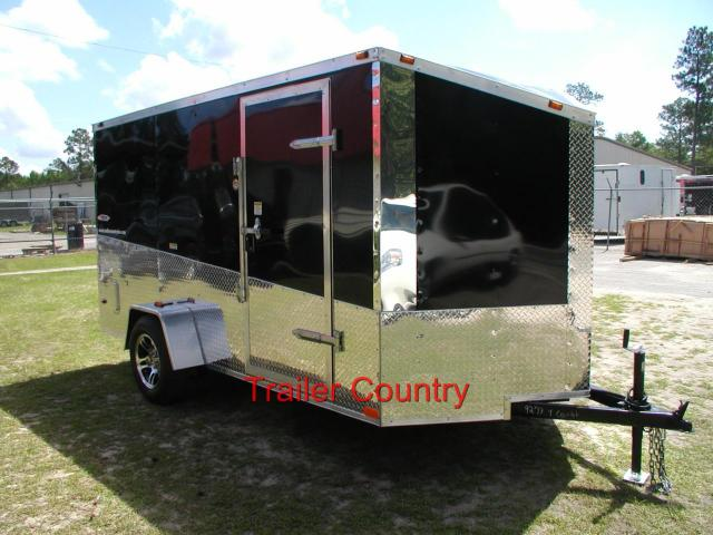6 x 12 Enclosed Trailer w/Ramp-SLANT V - ANY COLOR!