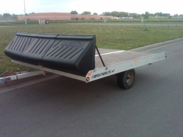 1997 Featherlite Aluminum Snowmobile Trailer