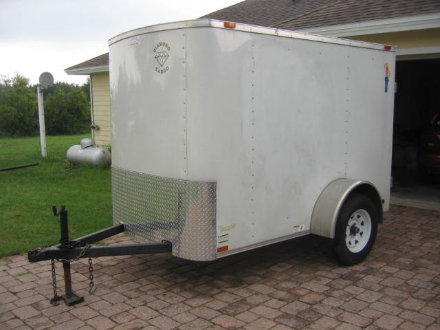 Diamond Cargo 5 x 8 Utility trailer