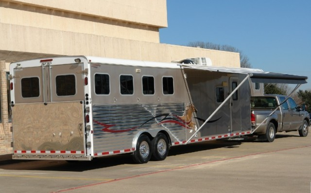 2007 American Spirit 4 Horse Sierra 12' LQ