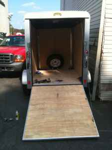 2009 Pace American, Journey, enclosed 5x8 trailer