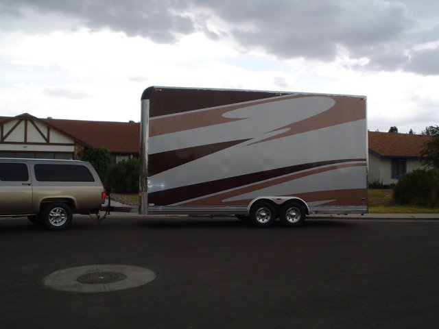 Buy & Sell New & Used Trailers Brown MotorSports Stacker ...