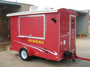 Custom Sno Pro Concession Trailer