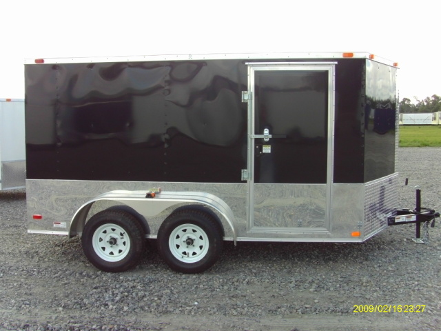 7x12TA Enclosed Cargo Trailer