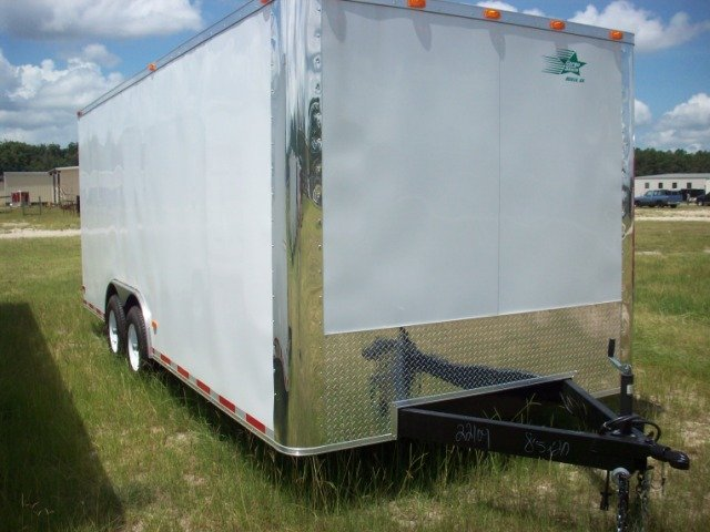 2010 8.5X20 ENCLOSED CAR HAULER