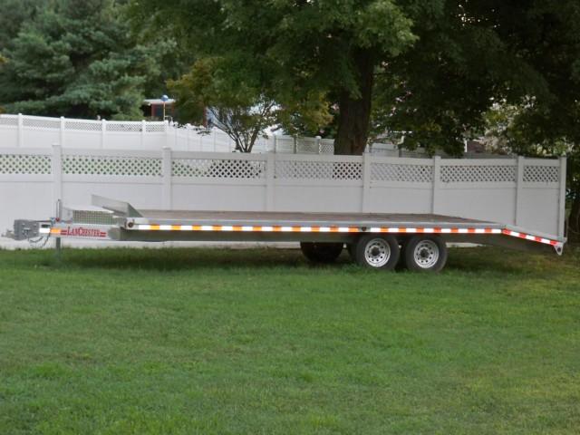 Lanchester 2009 Aluminum flat bed trailer 24'