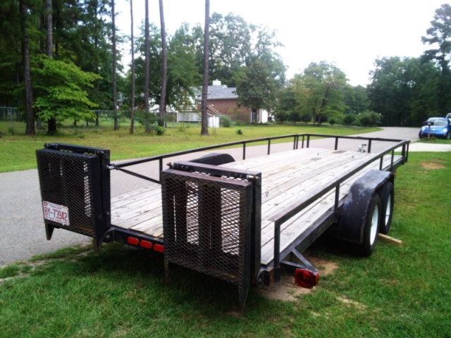 20' Car Hauler or Utility Trailer