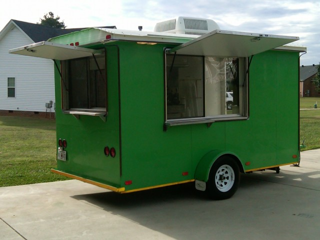 6x12 Sno-Pro Concession Trailer