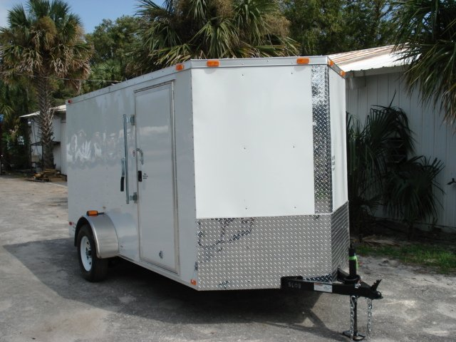 6 x 12 enclosed trailer FallSpecial