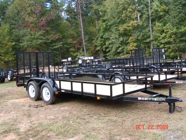 6x14 utility landscapeing trailer