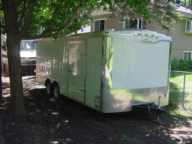 Haulmark 8x20 Enclosed Trailer