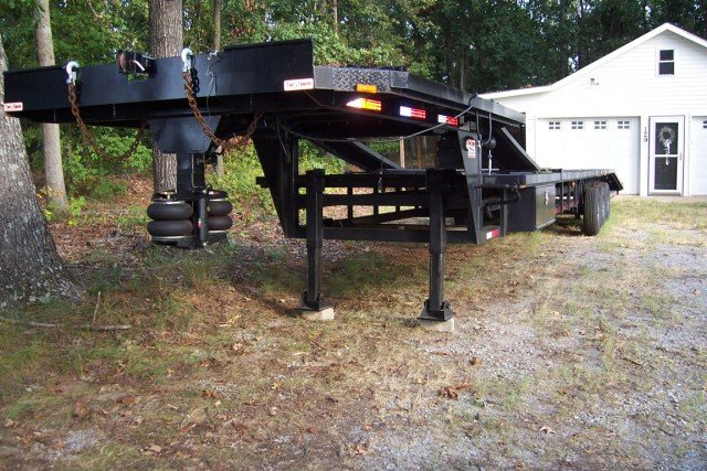 2009 TAKE 3 STEP DECK 3/4 CAR HAULER