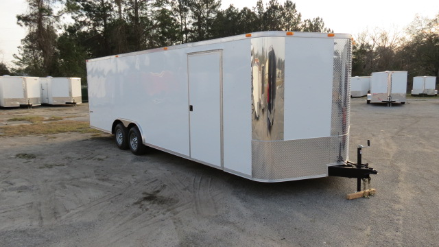 STEALTH Car Hauler Trailer 8.5 x 20TA 2011 V-Nose