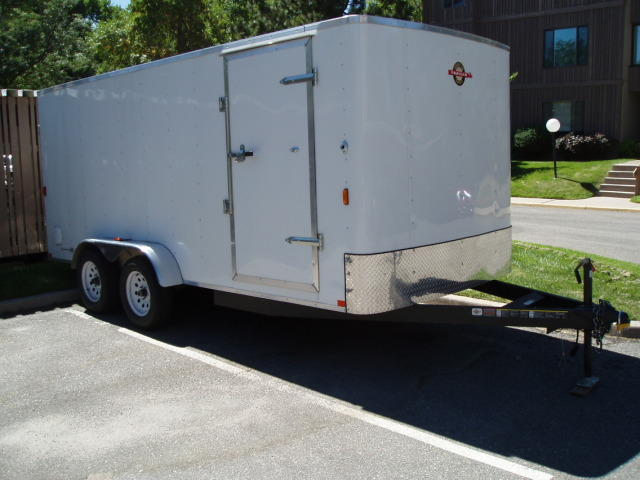 Used 2010 7 X 16 Carryon Cargo Trailer For Sale Co