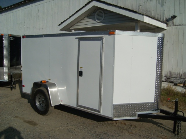 6 x 12 V Enclosed Cargo Trailer - New Elite Series