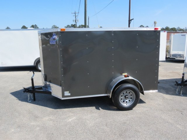 4x6sa Enclosed Cargo Trailer V-Nose