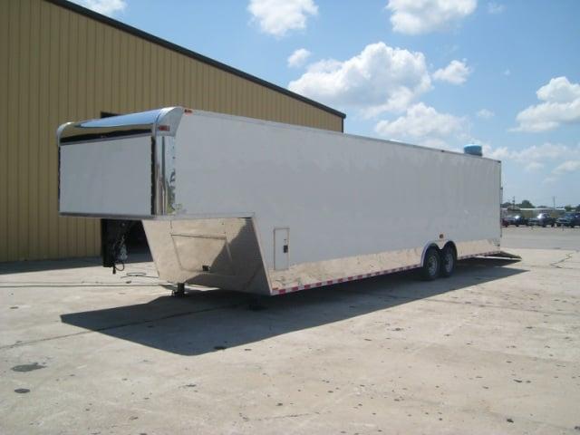 8.5x32 Goosneck Enclosed Car Hauler Trailer 8 x 32