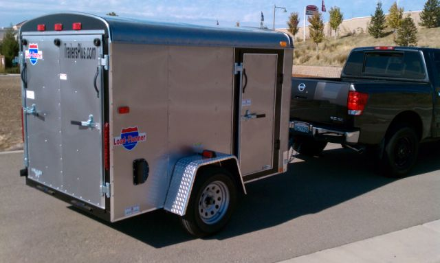 5 x 8 Enclosed Interstate Trailer