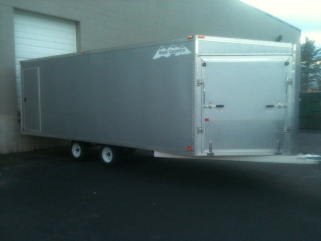 2010 Enclosed Trailer Deckover
