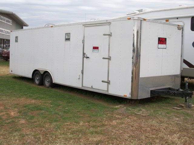 2008 - 8.5X28 DECKED OUT CAR/CARGO HAULER