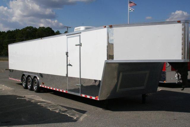 Used 8 5x40 Gooseneck Enclosed Trailer Car Hauler For Sale Ga 31750 Usa Used Cars For Sale