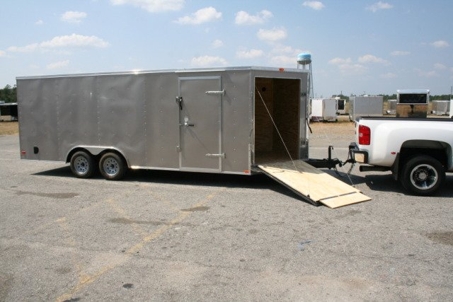8.5X24 ENCLOSED CARGO CAR HAULER SNOWMOBILE TRAILER